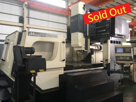 HARTFORD CNC DOUBLE COLUMN MACHINING CENTER - HEP-2150 HARTFORD CNC DOUBLE COLUMN MACHINING CENTER
