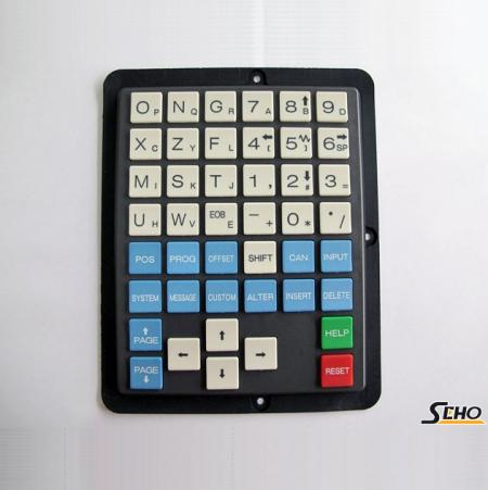 FANUC Half Key 0iT Key Pad - Half Key 0iT FANUC Key Sheet Key Pad