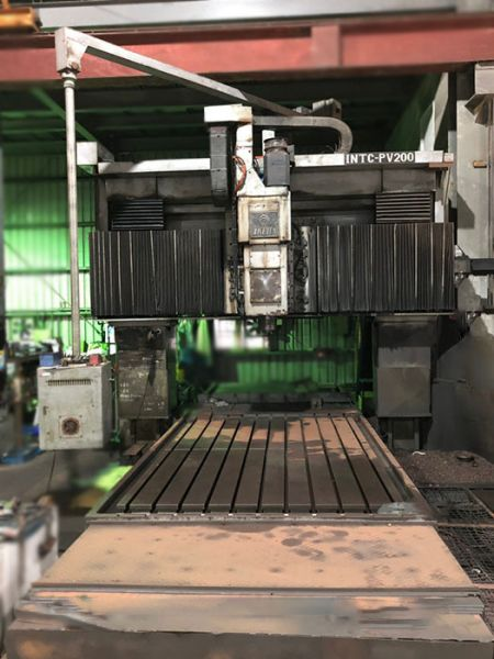 IKEDA INTC-PV200 CNC DOUBLE COLUMN MACHINING CENTER