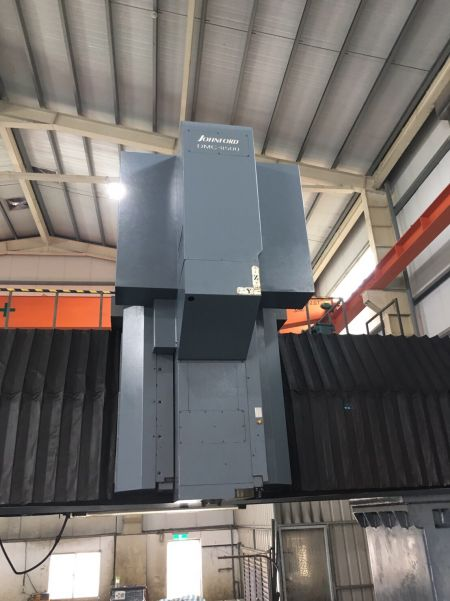 JOHNFORD DMC-8500 5 FACE Double Column Machining Center_Spindle