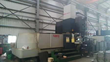 KAFO BMC-3022+ CNC DOUBLE COLUMN MACHINING CENTER
