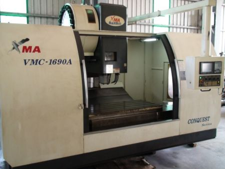 MAXMILL VMC-1690A CNC VERTICAL MACHINING CENTER