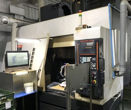 MAZAK FJV-250 CNC VERTICAL MACHINING CENTER