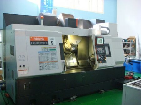 MAZAK INTERGREX 200-IIIS CNC TURNING-MILL MACHINE
