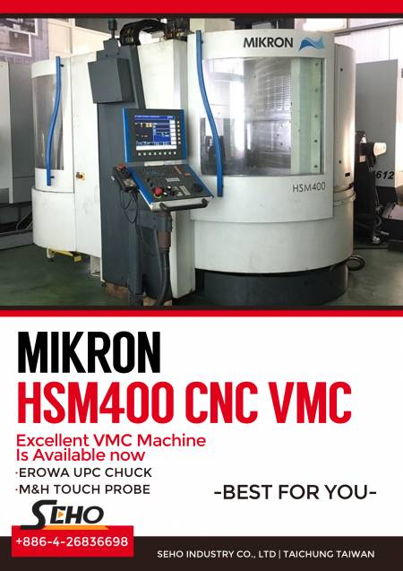 MIKRON CNC Machining Centers
