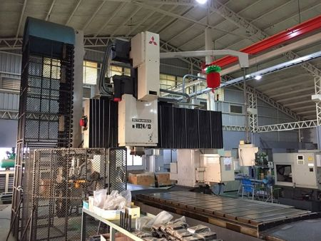 MITSUBISHI MVB24-13 CNC  5FACE DOUBLE COLUMN MACHINING CENTER