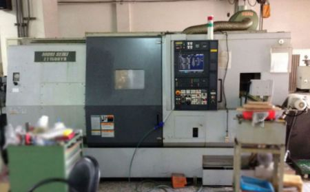 MORI SEIKI TWIN SPINDLE TWIN TURRET CNC LATHE - ZT-1500YB MORI SEIKI TWIN SPINDLE TWIN TURRET CNC LATHE