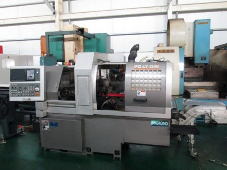 POLYGIN DIAMOND 32CSB SWISS TYPE CNC LATHE