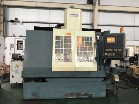 QUICK JET AV-1280 CNC VERTICAL MACHINING CENTER