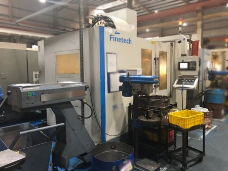 FINETECH CNC Machining Centers - SMV-1270-2LB FINETECH CNC Machining Centers