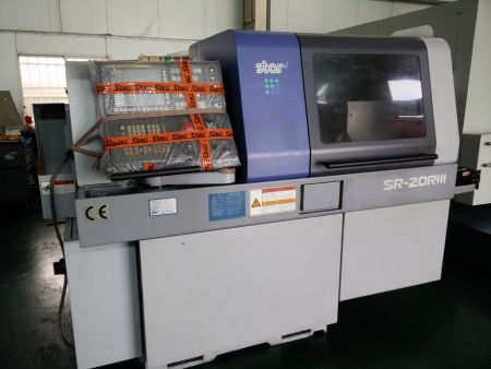 STAR SR20R SWISS TYPE SLIDING HEAD CNC LATHE