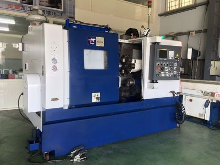 TOPPER TNL-100HLB TWIN SPINDLE CNC LATHE