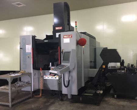 WELE 5axis CNC Machining Centers - UG800 WELE 5axis CNC Machining Center