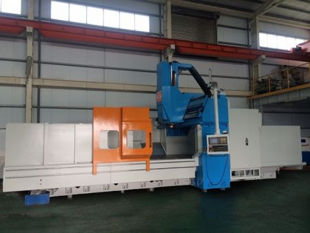 VTEC VF-4000 CNC  5FACE DOUBLE COLUMN MACHINING CENTER