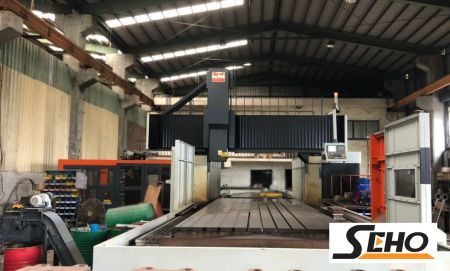 VTEC CNC DOUBLE COLUMN MACHINING CENTER