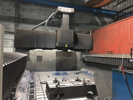 WELE MG530 CNC  5FACE DOUBLE COLUMN MACHINING CENTER