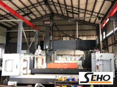 WELE CNC 5 FACE DOUBLE COLUMN MACHINING CENTER