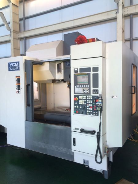 YCM NXV-1020A CNC VERTICAL MACHINING CENTER