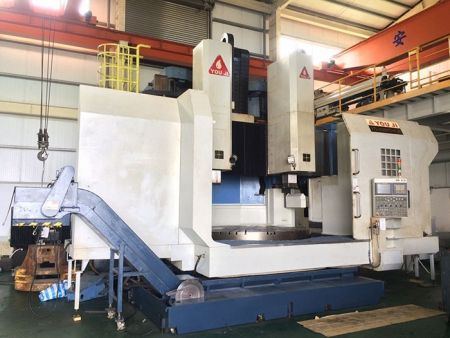 YOU JI VTL-2500ATC-2R+G CNC VERTICAL LATHE