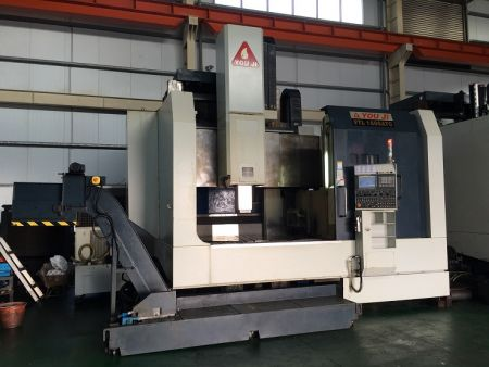 YOU JI CNC VERTICAL TURNING LATHE - VTL-1600ATC YOU JI CNC VERTICAL TURNING LATHE