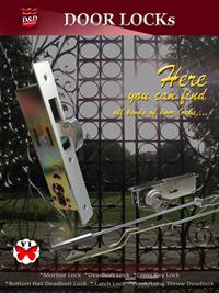 O catálogo eletrônico para fechaduras de porta está online.