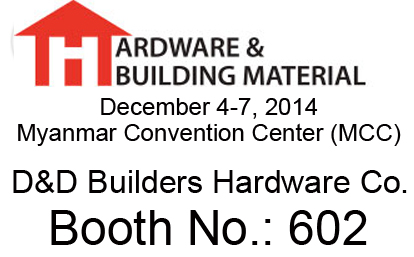 2014 Myanmar International Building Material, Hardware & Tool Exhibition