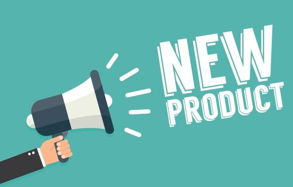 New products have already hit the store shelves! - New products coming!