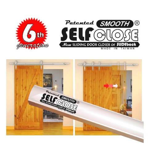 SELFCLOSE Sliding Door Closer