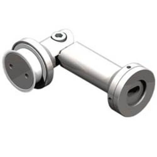 Adjustable Glass Connectors - Single Mount - Adjustable Glass Connectors - Single Mount