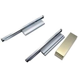 Fecho de porta de montagem em superfície com trilho deslizante - Fecho de porta montado na superfície com trilho deslizante