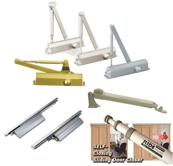 Door Closer - Hydraulic door closer, Pneumatic door closer for storm doors and swing doors