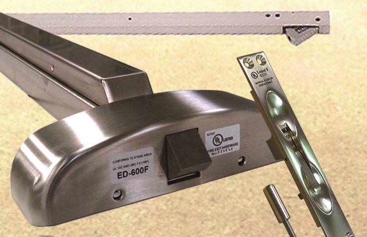 Sair do dispositivo - barra de choque, barra de pânico, dispositivo de pânico, barra de pressão, dispositivo de saída