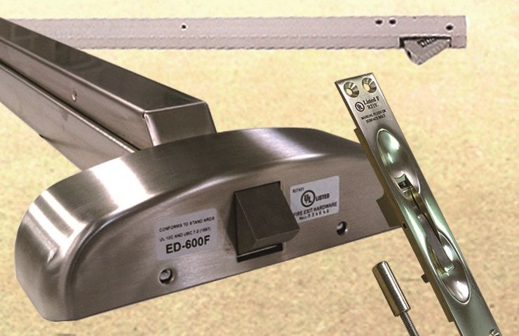 Exit Device - crash bar, panic bar, panic device, push bar, exit device
