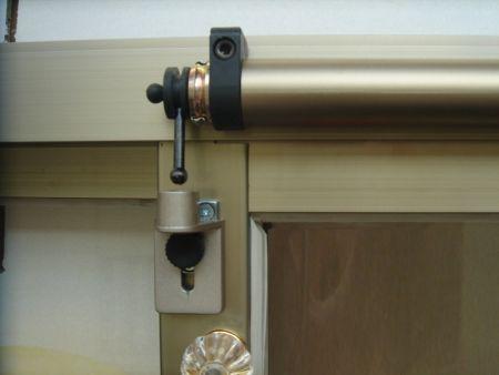Instalação de 1ª geração SLIDEback porta deslizante mais perto
