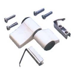 Dobradiças de porta de alumínio