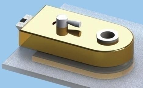 Glass Patch Lock