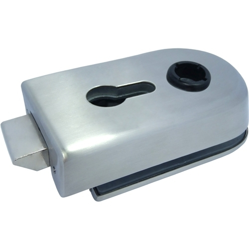 Encaixe de alavanca, 121 mm - Encaixe de alavanca de vidro para porta de vidro sem moldura
