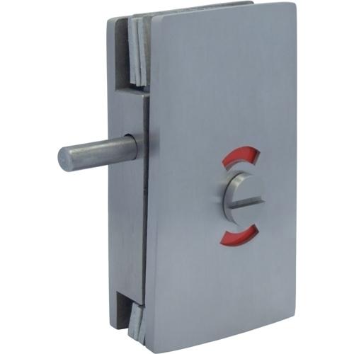 Glass Patch Lock - Trava de parafuso série quadrada com interruptor indicador