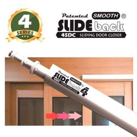 4 séries SLIDEback Fecho de porta deslizante - SLIDEback porta deslizante mais perto