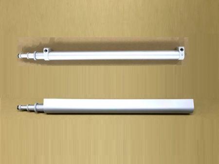 SLIDEback porta slding mais próxima com revestimento decorativo