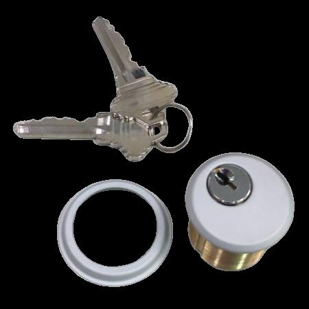 Cilindro de encaixe com chave - Cilindro de encaixe com chave