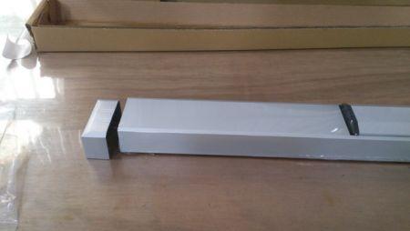 Aluminum end cap of ED-700 series narrow stile exit device