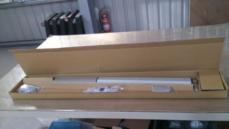 Package of ED-700 series narrow stile exit device