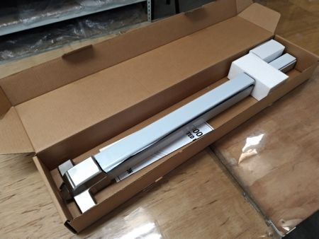 Package of ED-800F-36, stainless steel exit device