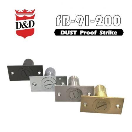 Dust Proof Strike, versão de bloqueio - Golpe à prova de poeira com trava