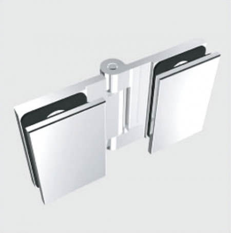 Glass Free Hinge, Glass to Glass, Inswing, 135 degree - Glass Free Hinge, Glass to Glass, Inswing, 135 degree