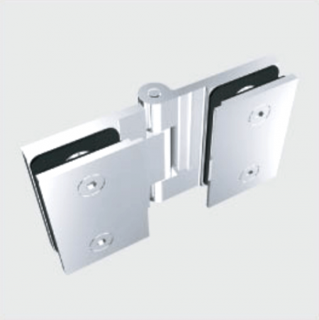 Glass Free Hinge, Glass to Glass, outswing, 135 degree - Glass Free Hinge, Glass to Glass, outswing, 135 degree