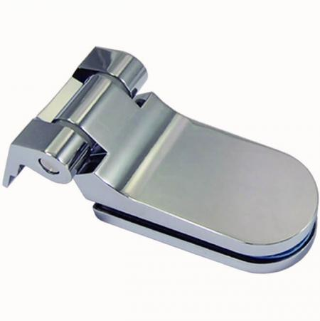 Glass Pivot Hinge for interior glass door, Glass to Wall - Hinge for interior glass door