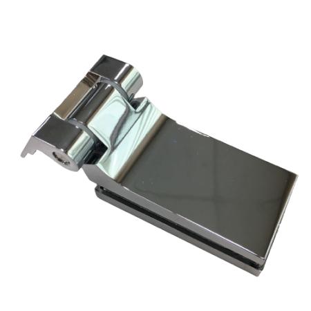 Dobradiça pivotante de vidro para porta de vidro interior, vidro para parede - Dobradiça para porta de vidro interior