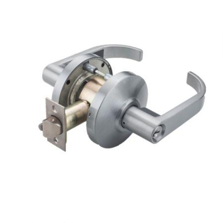 Lever Handle with Mechanism Lock